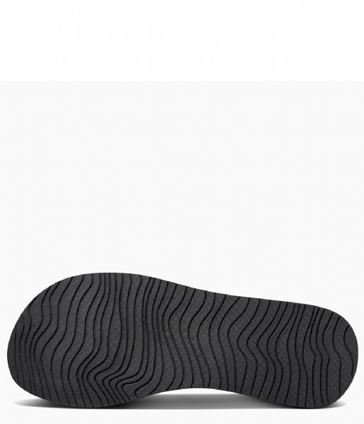 Reef Slippers Cushion Threads black