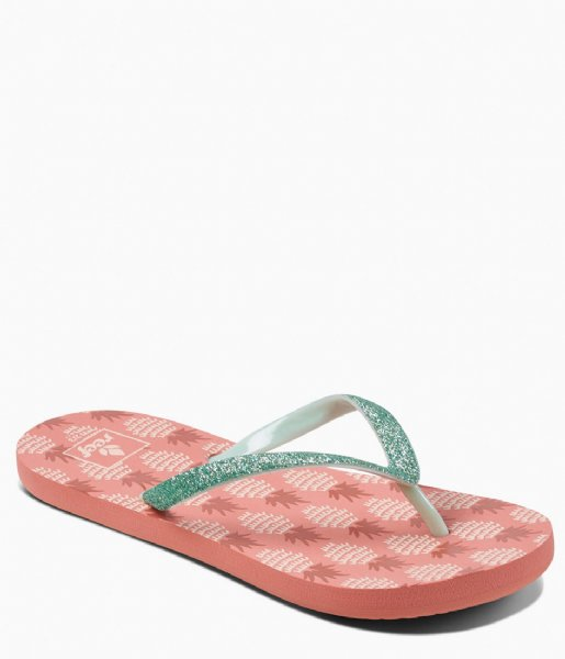 Reef Slippers Kids Stargazer prints pineapple