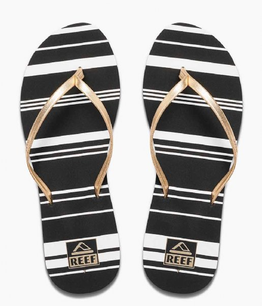 Reef Slippers Reef Bliss Full gold stripe