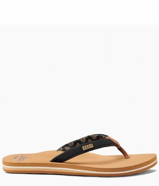 Reef Slippers Reef Cushion Sands black tan
