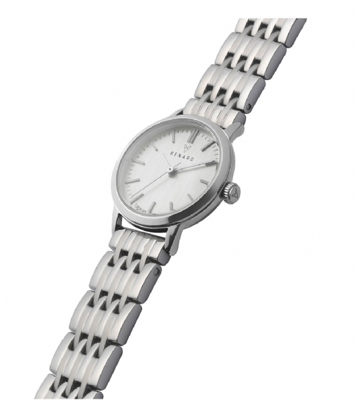 Renard Horloge Elite Eggshell Silver Colored 25.5 silver colored link