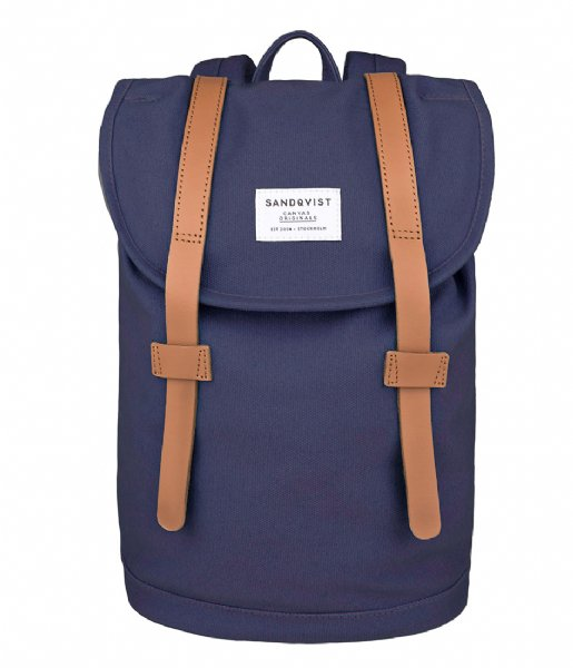 Sandqvist Dagrugzak Backpack Stig Small blue (1028)