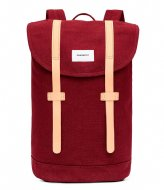 Sandqvist Backpack Stig 13 Inch burgundy (1019)