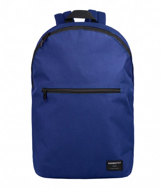 Sandqvist Laptop rugzak Backpack Oliver 13 Inch deep blue (867)