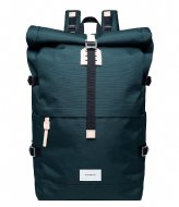 Sandqvist Bernt 13 Inch dark green with natural leather (1371)