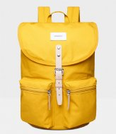 Sandqvist Roald yellow with natural leather (1254)