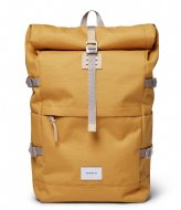 Sandqvist Bernt Yellow with Natural Leather (SQA1661) Q3-20