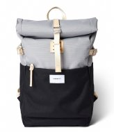Sandqvist Ilon 13 Inch Multi Grey/Black with natural leather (SQA1562) Q3