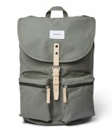 Sandqvist Roald 15 Inch Dusty green with natural leather (SQA1582) Q3-20