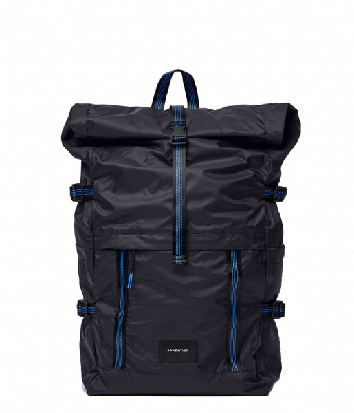 Sandqvist Dagrugzak Backpack Bernt Lightweight black (SQA1506)