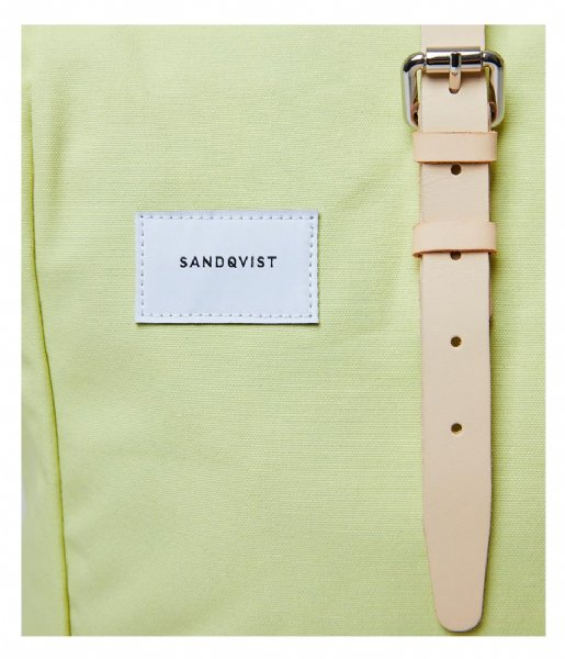 Sandqvist Laptop rugzak Laptop Backpack Dante 15 Inch lemon (SQA1433)