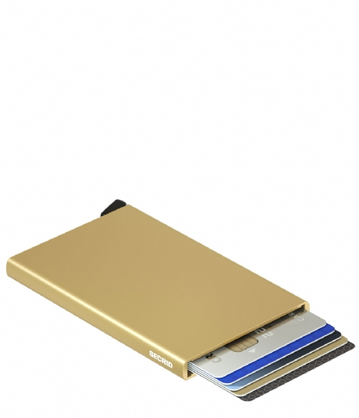 Secrid Pasjes portemonnee Cardprotector gold colored