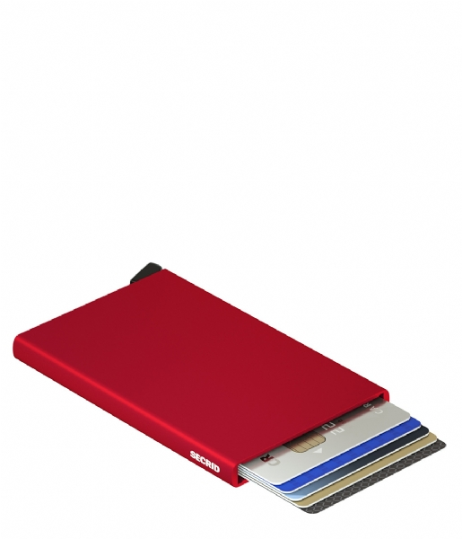 Secrid Pasjes portemonnee Cardprotector red