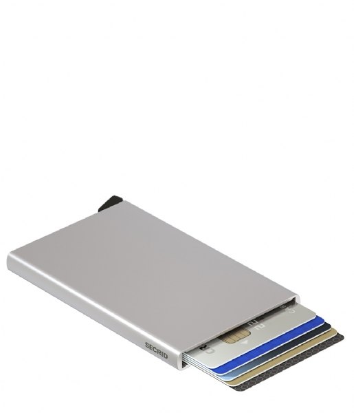 Secrid Pasjes portemonnee Cardprotector silver colored