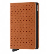 Secrid Slimwallet Perforated cognac