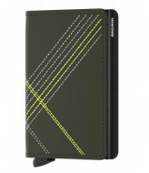 Secrid Slimwallet Stitch Linea Matt Base lime