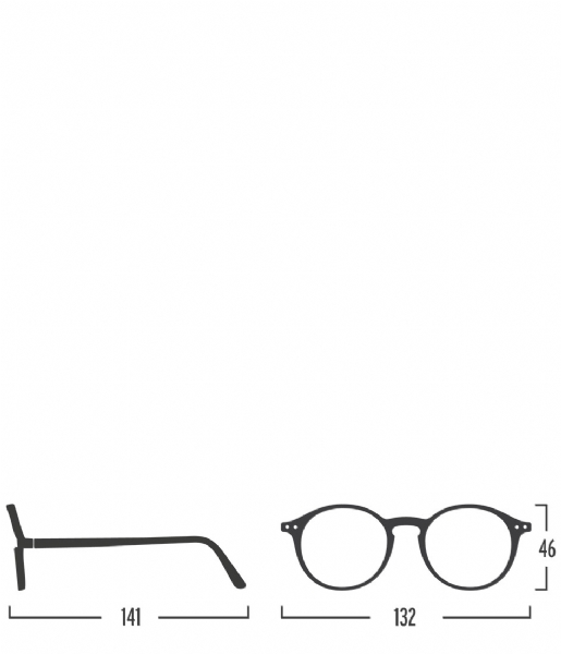 Izipizi Leesbril #D Reading Glasses light tortoise