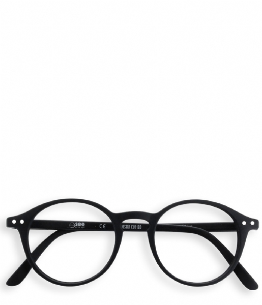 Izipizi Leesbril #D Reading Glasses black soft