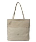 Fred de la Bretoniere-Handtassen-Shoppingbag Large Polished Leather-Taupe