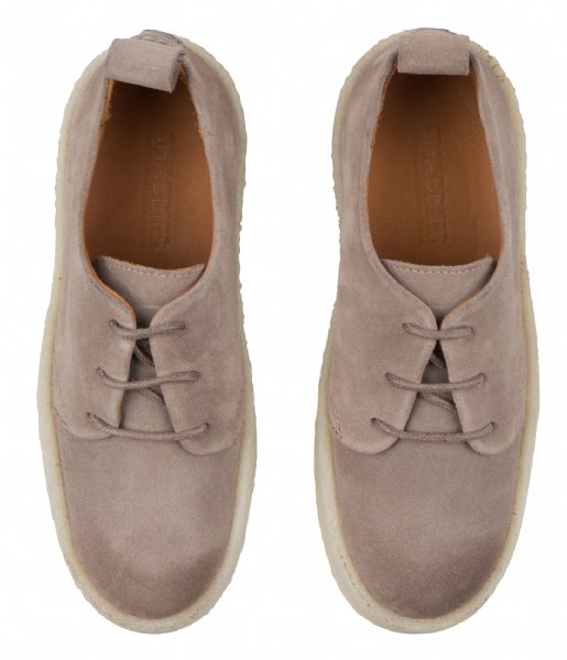 Shabbies Sneakers Lace Up Shoe Suede suede beige
