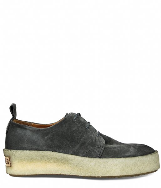 Shabbies Sneakers Lace Up Shoe Suede suede olive