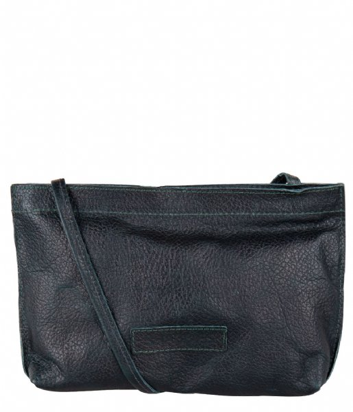 Shabbies Crossbodytas Crossbody Grain Leather dark green
