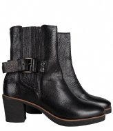 Shabbies Ankle Boot With Zipper Grain black