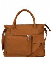 Shabbies Working Bag Waxed Grain Cognac (3442)