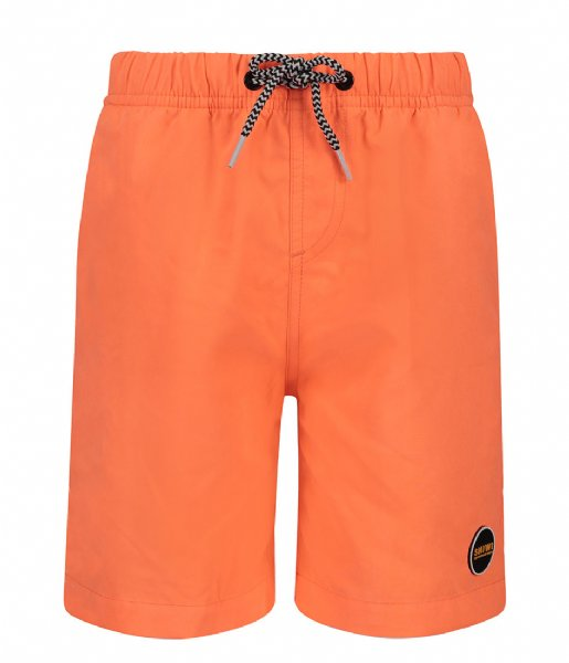 Shiwi Zwembroek Swim Short Solid Mike neon orange (208)