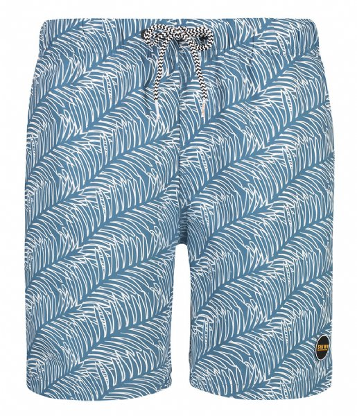 Shiwi Zwembroek Men Swim Short New Leaf yacht blue