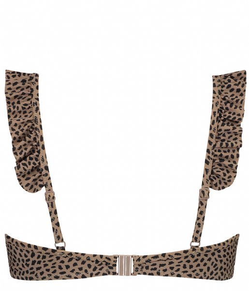 Shiwi Zwemkleding Cindy Padded Wire Top Edgy Animal Cup D/E tortuga