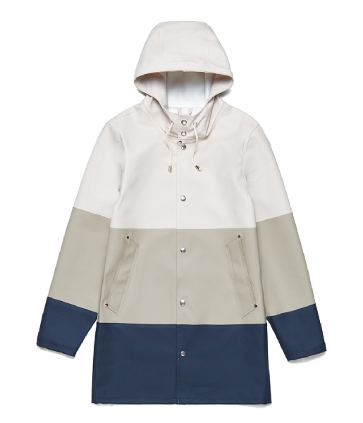 Stutterheim Regenjas Stockholm Large Stripe potato