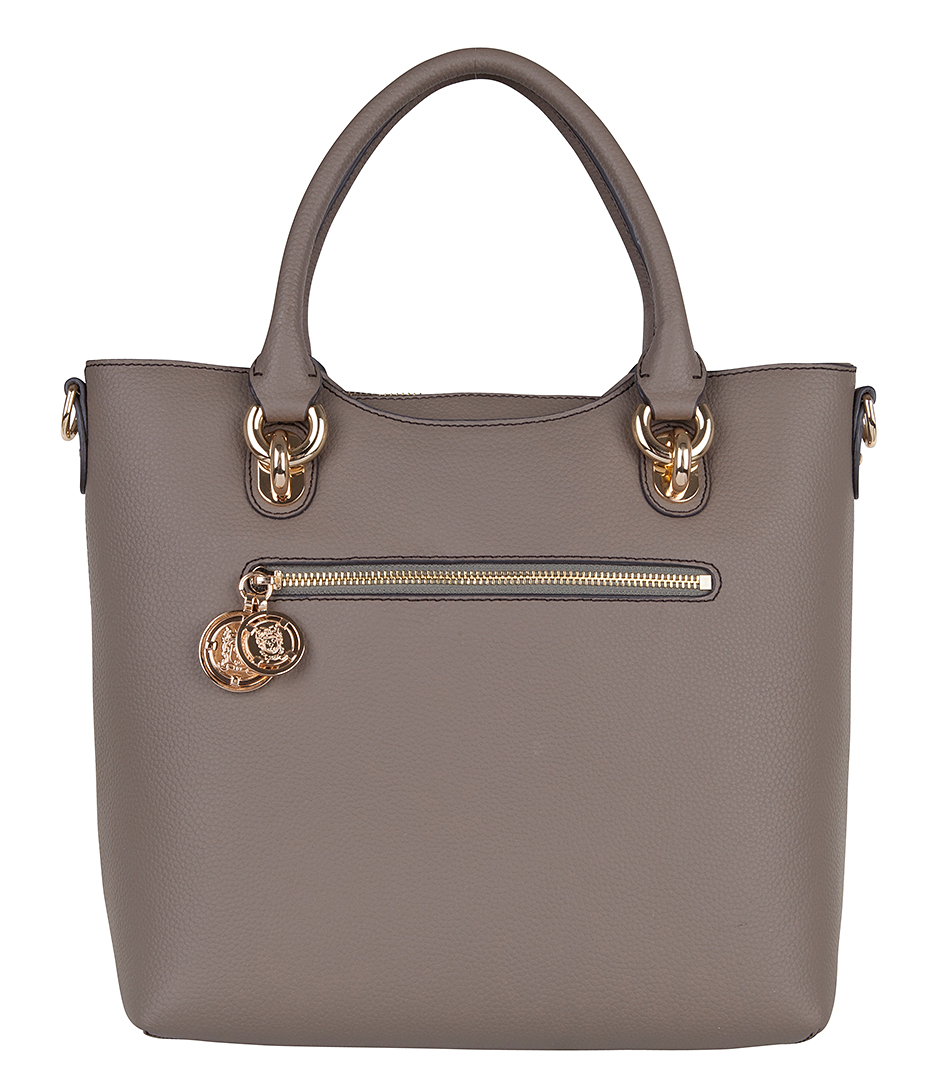 Verwonderend Essential Small Shopper taupe TOV Essentials | The Little Green Bag UU-54