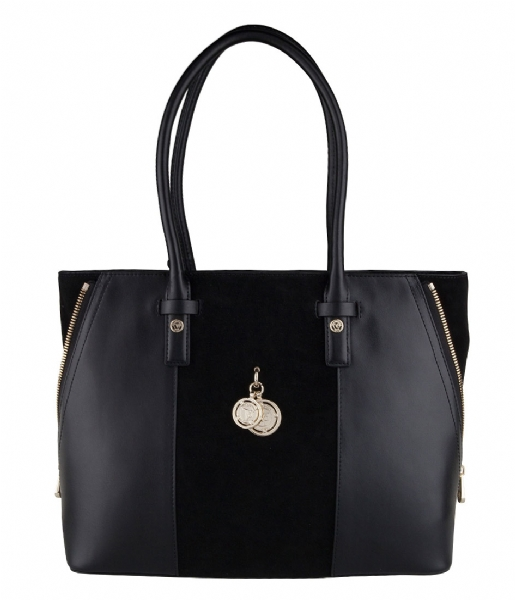Fonkelnieuw Audrey Shopper black TOV Essentials | The Little Green Bag XH-96