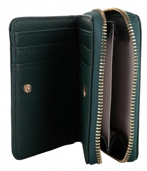 The Little Green Bag Ritsportemonnee Wallet Colm Emerald