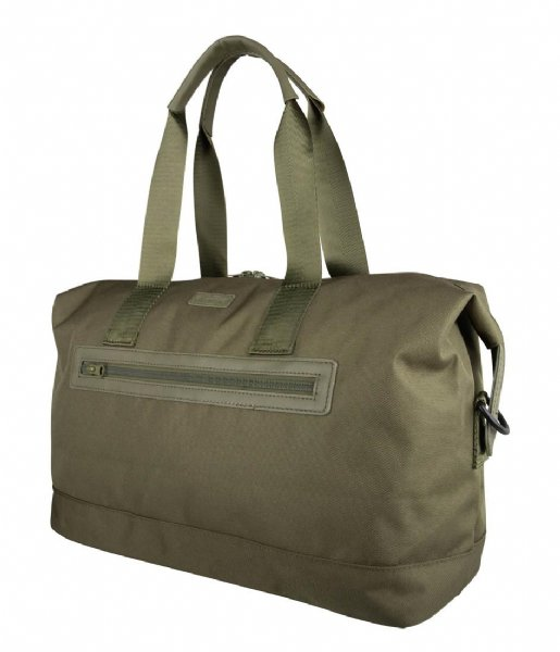 The Little Green Bag Reistas Duffle Bag Daisy Olive