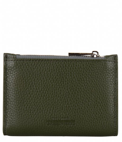 The Little Green Bag Muntgeld portemonnee Elm Wallet olive