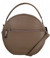 The Little Green Bag Fern Handbag taupe