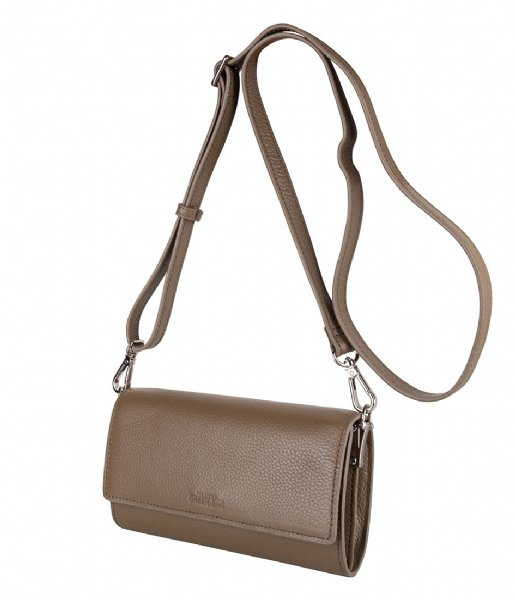 The Little Green Bag Crossbodytas Sierra Crossbody taupe