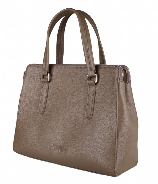 The Little Green Bag Handtas Vana Handbag taupe
