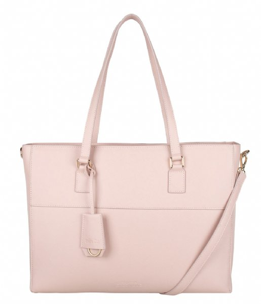 The Little Green Bag Crossbodytas Adair Laptop Bag 15 Inch blush pink