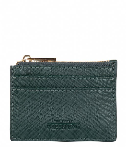 The Little Green Bag Muntgeld portemonnee Wallet Clementine emerald
