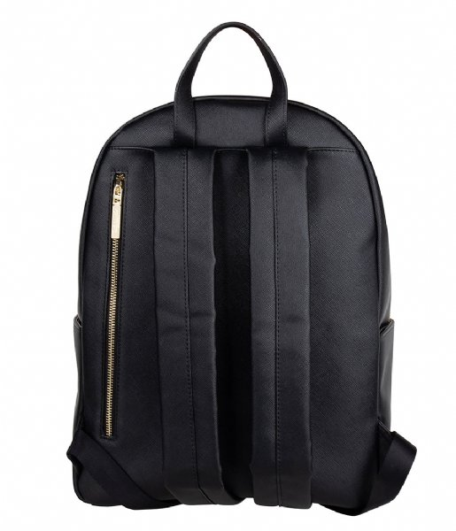 The Little Green Bag Dagrugzak Terra Laptop Backpack 13 Inch black