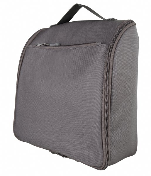 The Little Green Bag Toilettas Toiletry Bag Beck Grey