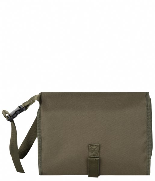 The Little Green Bag Luiertas Changing Pad Amber Olive