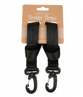 The Little Green Bag Stroller strap Koru Black