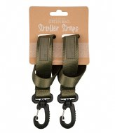 The Little Green Bag Stroller strap Koru Olive