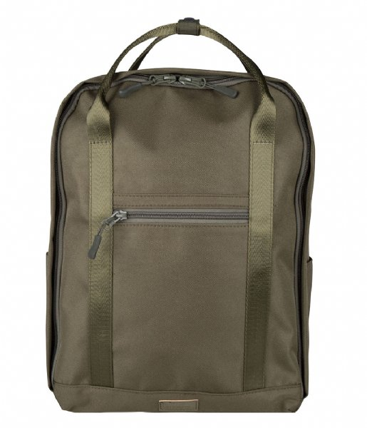The Little Green Bag Dagrugzak Backpack Atlas Olive