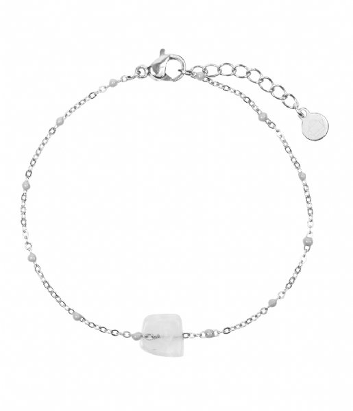 The Little Green Bag Armband Moonstone Gem Bracelet X My Jewellery silver colored