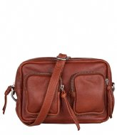 The Little Green Bag Alder Crossbody Cognac (300)